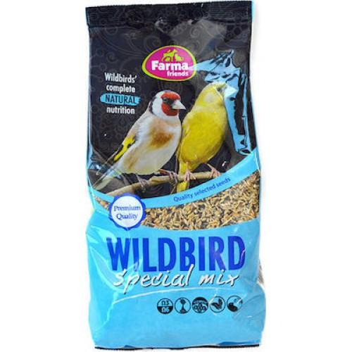 FARMA  WILD BIRD SPECIAL MIX 1KG ΤΡΟΦΗ ΓΙΑ ΑΓΡΙΑ ΠΟΥΛΙΑ