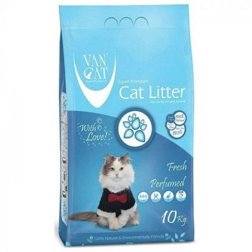VAN CAT FRESH CLUMPING 10 KG ΜΕ ΑΡΩΜΑ ΦΡΕΣΚΑΔΑΣ (ΨΙΛΗ)