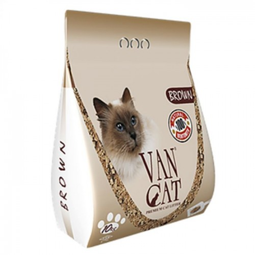 VAN CAT BROWN CLUMPING 10 KG