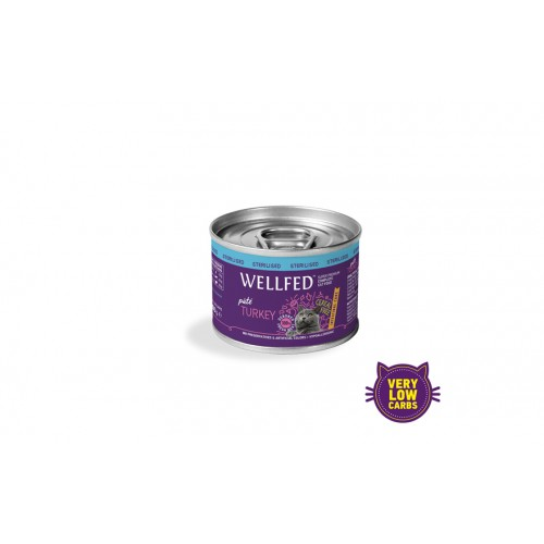 INTESTINAL CARE STERILISED TURKEY WET FOOD 200gr