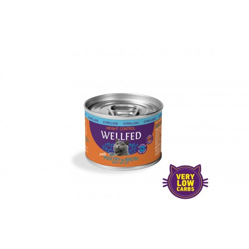 WEIGHT CONTROL POULTRY WITH MILLET WET FOOD 200gr