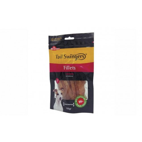 ΛΙΧΟΥΔΙΕΣ ΣΚΥΛΟΥ SOFT CHICKEN FILLETS SLICES PET ITEREST 100gr