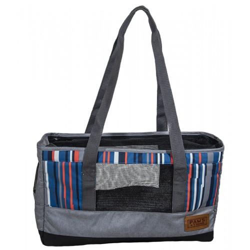 Τσάντα μεταφοράς ώμου FOFOS SOS Σκύλου Γάτας  από ανακυκλώσιμα υλικά 40x14x25cm