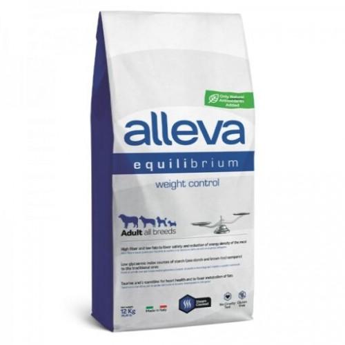 Alleva Equilibrium Adult All Breeds Gluten Free Weight Control 12kgr