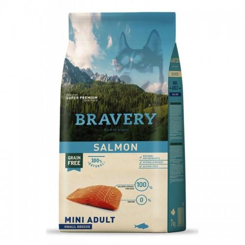 BRAVERY GRAIN FREE ADULT MINI SALMON DOG 2KG