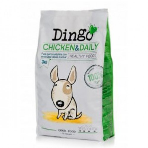 DINGO ADULT CHICKEN & DAILY 15KG