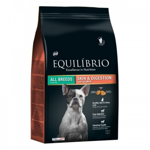 EQUILIBRIO ADULT SKIN AND DIGESTION SALMON 2KG