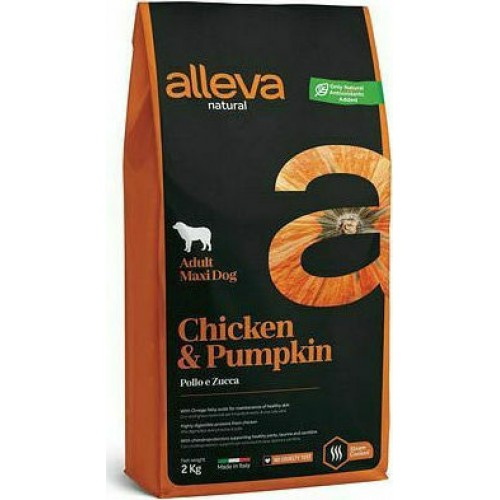 Alleva Natural CHICKEN PUMPKIN ADULT MEDIUM 2kg