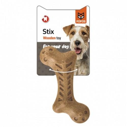 Fofos Stix Wooden toy - Ανθεκτικό παιχνίδι σκύλου από ρητίνη ξύλου