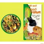 Τροφή για κουνέλια κι ινδικά χοιρίδια Fiocco Premium All Pet