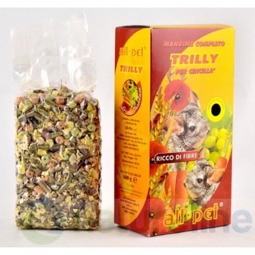 Τροφή για τσιντιλά Trilly All Pet