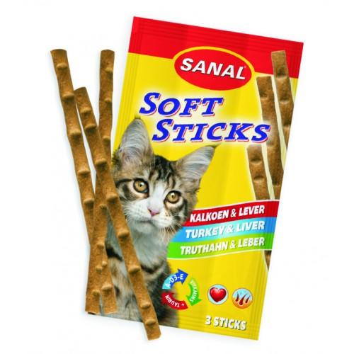Sanal soft sticks poultry & liver