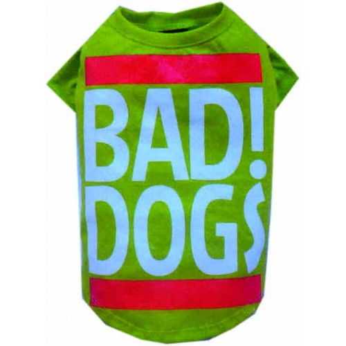 T-Shirt Bad Dogs Small  T537